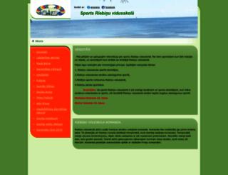 riebinuvsksports.anazana.com screenshot