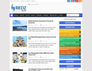 riedzz.blogspot.com screenshot