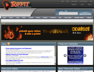 riffit.com screenshot