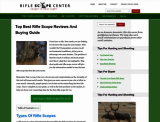 riflescopecenter.net screenshot