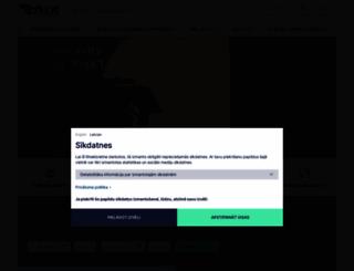 riga-airport.com screenshot