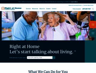 rightathome.net screenshot