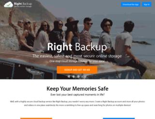 rightbackup.com screenshot