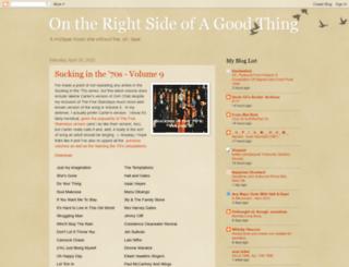 rightsideofagoodthing.blogspot.com screenshot