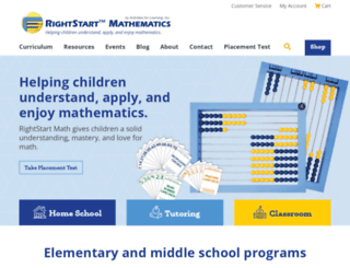 rightstartmath.com screenshot