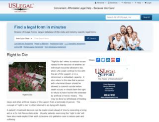 righttodie.uslegal.com screenshot
