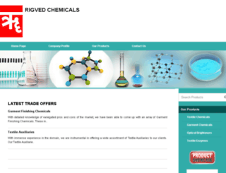 rigvedchemical.com screenshot