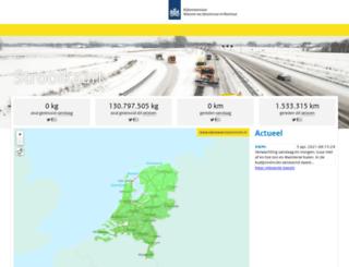 rijkswaterstaatstrooit.nl screenshot