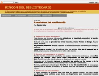 rincondelbibliotecario.blogspot.com screenshot