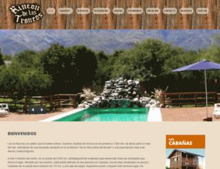 rincondelostroncos.com.ar screenshot