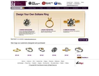 ringdesign.suratdiamond.com screenshot