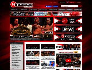 ringsidecollectibles.com screenshot