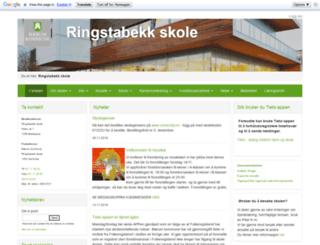 ringstabekk.net screenshot