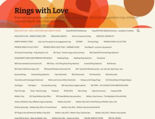ringswithlove.com screenshot