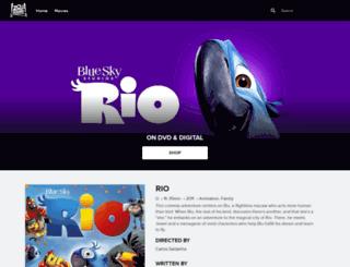 rio-themovie.com screenshot