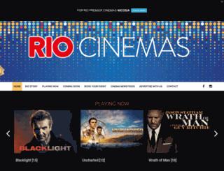 riocinemas.com.cy screenshot