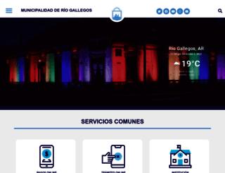 riogallegos.gov.ar screenshot