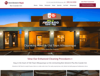 riograndeinn.com screenshot