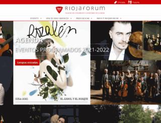 riojaforum.com screenshot