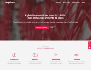 riomais.benfeitoria.com screenshot