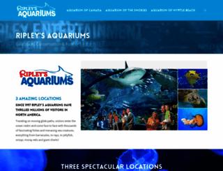 ripleyaquariums.com screenshot