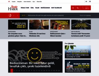 risalehaber.com screenshot