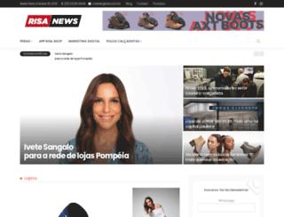 risanet.com.br screenshot