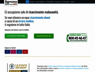 risarcimentomalasanita.net screenshot