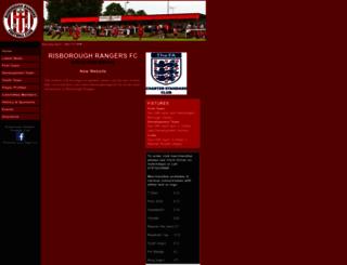 risboroughrangers.com screenshot