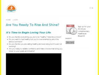 riseandshine.coachesconsole.com screenshot