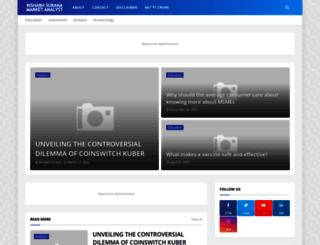 rishabhsuranamarketanalyst.com screenshot