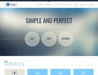 rishiitsolutions.com screenshot