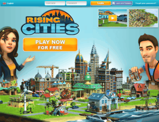 risingcities.gamehero.com screenshot