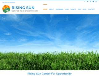 risingsunenergy.org screenshot