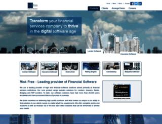 riskfreesoftware.co.uk screenshot