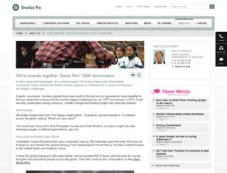 riskwindow.swissre.com screenshot