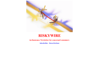 riskywire.com screenshot