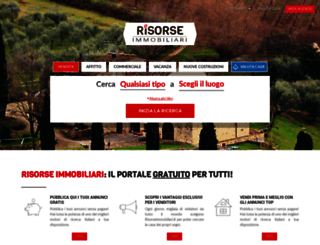 risorseimmobiliari.it screenshot
