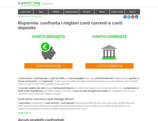 risparmio.supermoney.eu screenshot