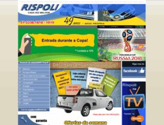 rispoliveiculos.com.br screenshot