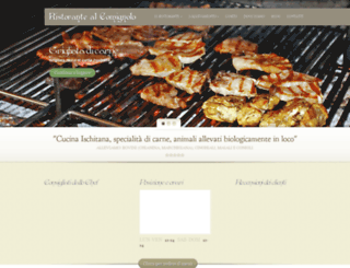 ristorantealcomignolo.it screenshot