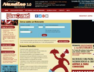 ristosito.com screenshot