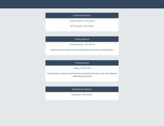 rita-beta.logcluster.org screenshot