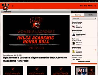 ritathletics.com screenshot