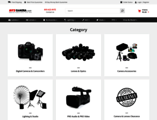 ritzcamera.com screenshot