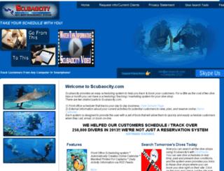 river.scubaocity.com screenshot