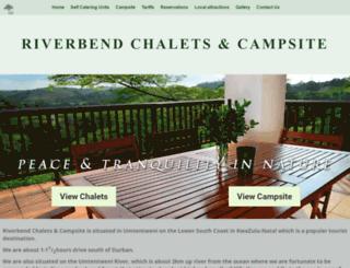 riverbendchalets.co.za screenshot