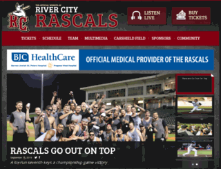 rivercityrascals.com screenshot