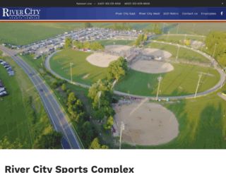 rivercitysportscomplex.com screenshot