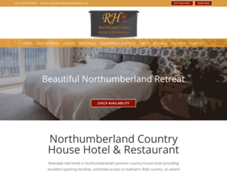 riverdalehallhotel.co.uk screenshot